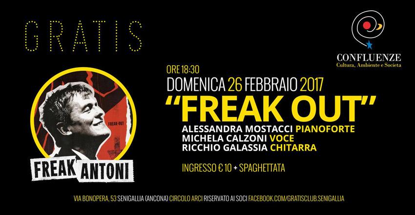 SENIGALLIA / Al Gratis la presentazione del Cd postumo di Roberto Freak Antoni