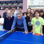 SENIGALLIA / L'Istituto Panzini sempre più vicino al Centro Olimpico Tennistavolo