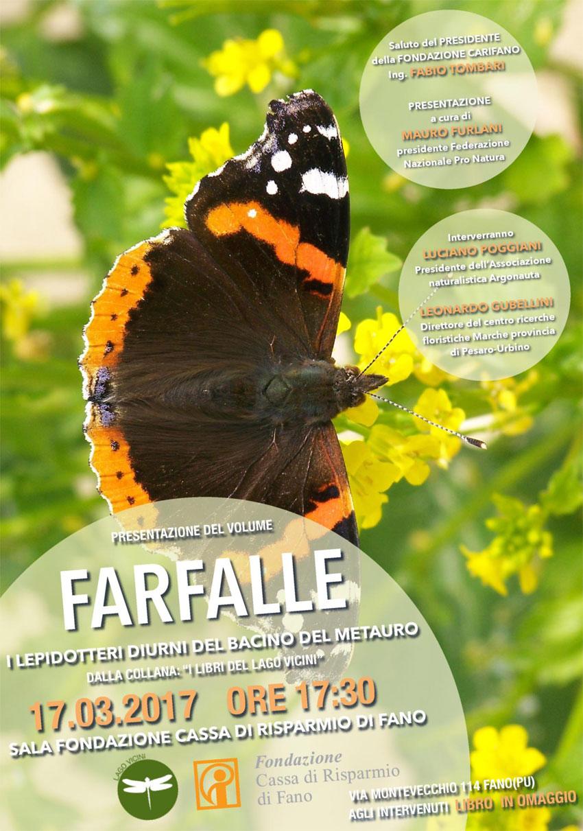 """FANO / Venerdì verrà presentato il libro  sulle """"Farfalle del Metauro"""""""