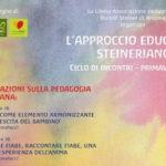 SENIGALLIA / Proseguono le conversazioni sulla pedagogia steineriana