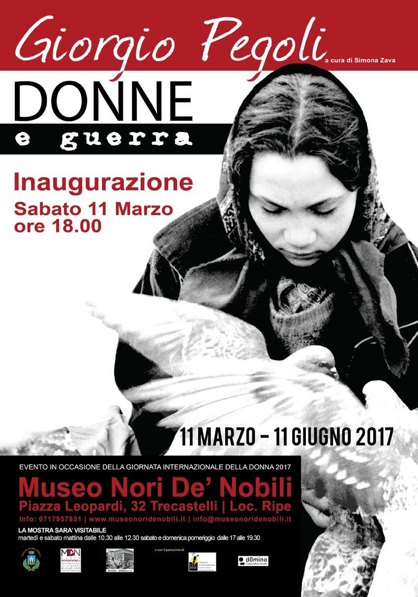 TRECASTELLI / Donne e guerra, al Museo Nori de' Nobili una bella mostra con le foto di Giorgio Pegoli