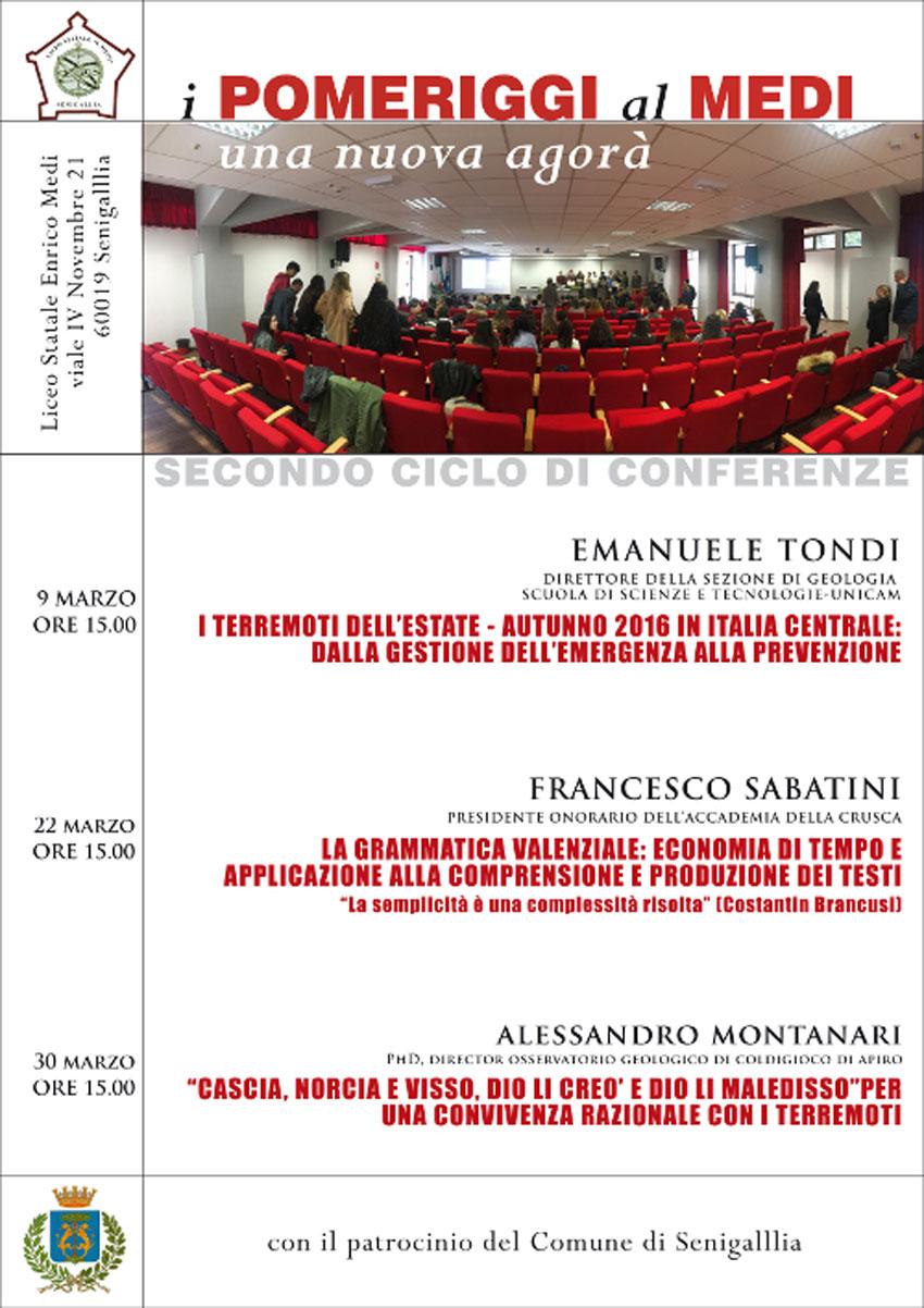 SENIGALLIA / I fenomeni sismici spiegati dal professor Emanuele Tondi
