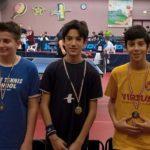 Tennistavolo, quattro senigalliesi ai Campionati Italiani Giovanili