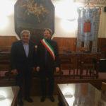 L'ambasciatore dell'India in Italia in visita culturale ad Arcevia