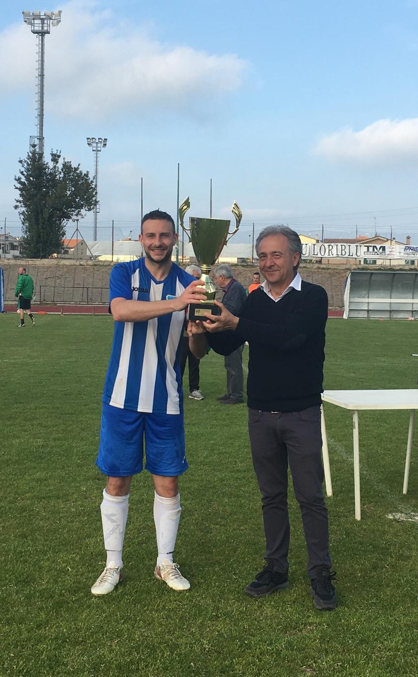 La Castelleonese vincitrice della Coppa Marche di 3^ categoria
