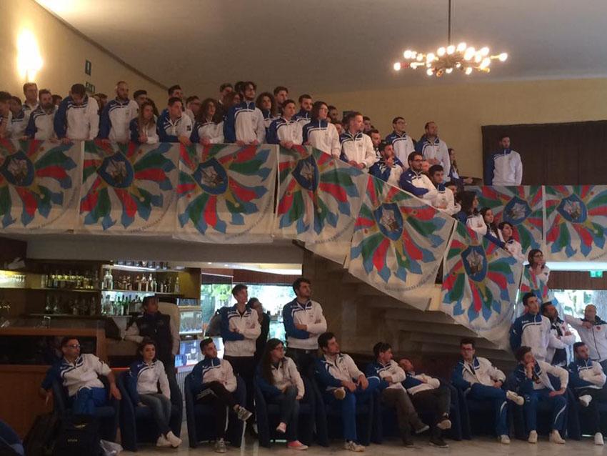 Sabato e domenica a Corinaldo il primo raduno della Nazionale italiana Sbandieratori