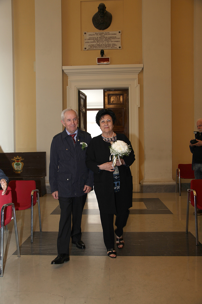 SENIGALLIA / I coniugi Cercamondi hanno festeggiato 50 anni di matrimonio