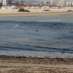 Il mare si prepara a scaricare altri detriti sulla spiaggia di Senigallia