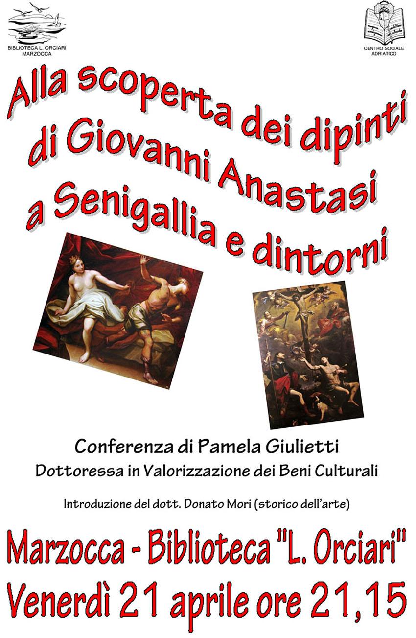 Una visita guidata virtuale alle opere del pittore senigalliese Giovanni Anastasi