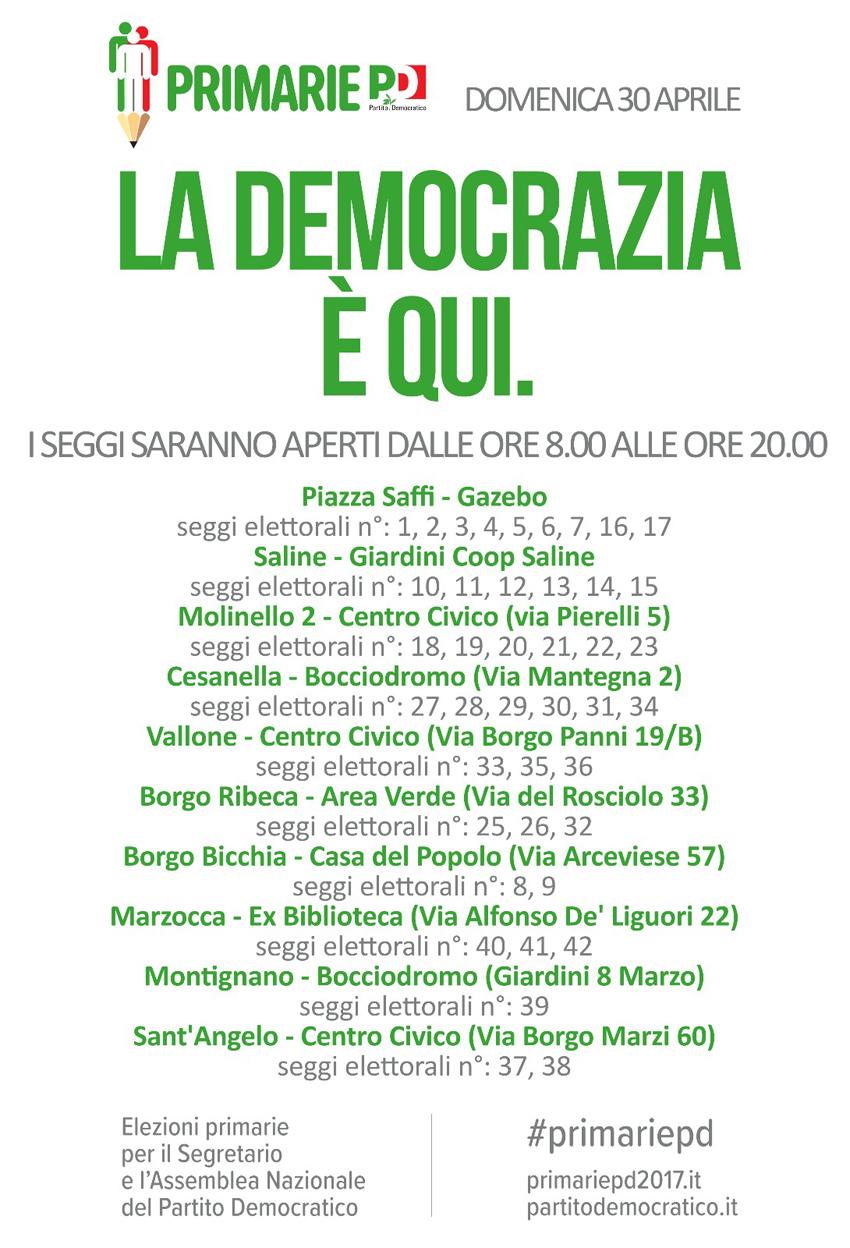 Le primarie del Pd, da Senigallia un nuovo appello al voto per Andrea Orlando