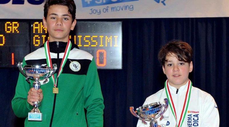 """SCHERMA / Il senigalliese Simone Santarelli protagonista a Riccione al 54° Campionato Italiano """"Renzo Nostini"""" under 14"""