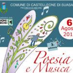 A Castelleone di Suasa la 3^ edizione di Poesia e musica dedicata anche ai giovani