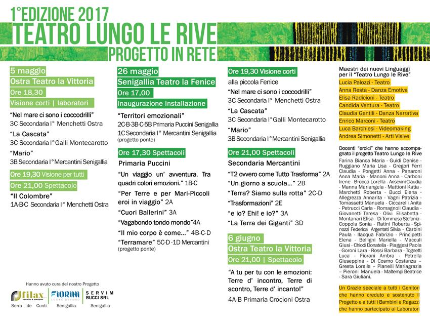 SENIGALLIA / Teatro lungo le rive, alla Fenice è il turno dell'Istituto Mario Giacomelli