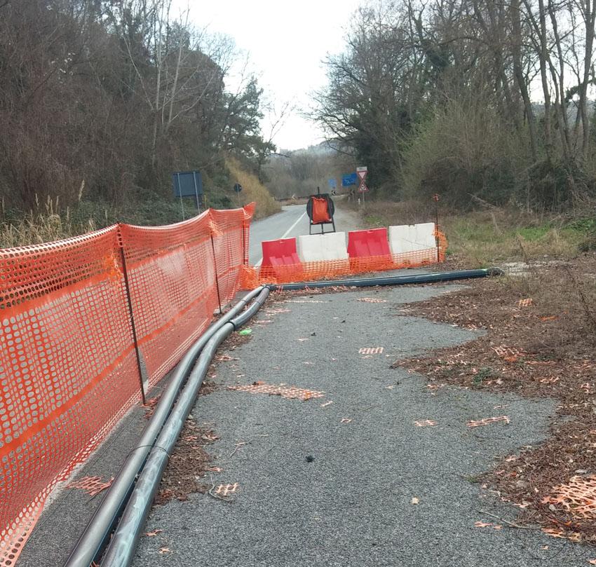 TRECASTELLI / Da più di un anno resta chiusa la strada che collega Brugnetto e Passo Ripe