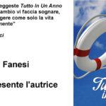 """A Fano la presentazione del libro """"Tutto in Un Anno"""" di Carmen Rucci"""
