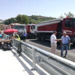 URBANIA / Ponte dei Conciatori, oggi 3 prove di carico per il collaudo statico della struttura
