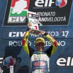 Pole e vittoria per il pilota fanese Marco Gaggi al Misano World Circuit Marco Simoncelli