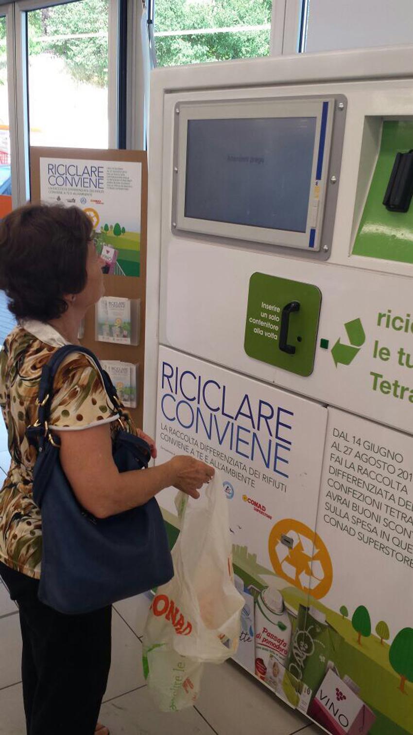 """Ammiccante successo per la tappa di Fermignano di """"Riciclare Conviene"""""""
