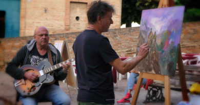 """OSTRA / Il Movimento Artistico Introvisione ha premiato i vincitori del Concorso """"Artisti all'Opera"""""""