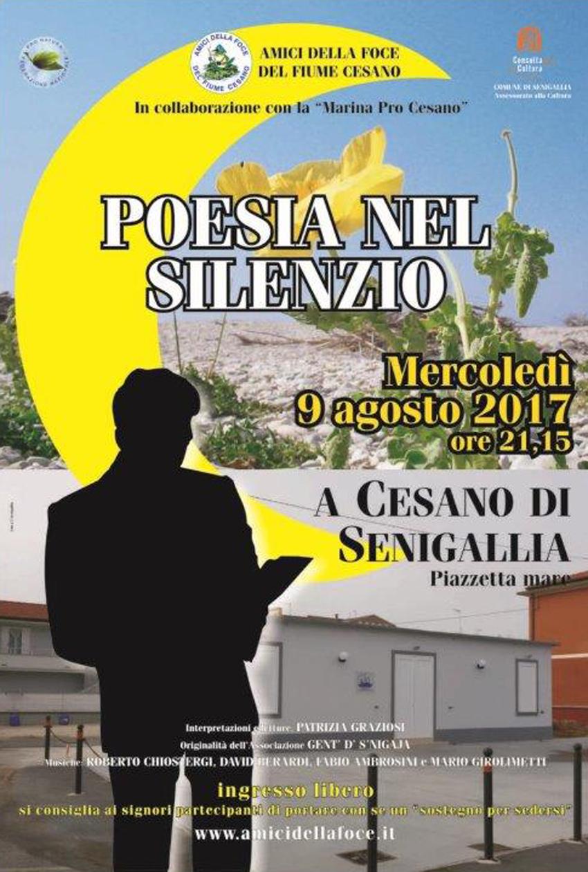 """SENIGALLIA / Nella quiete di Montedoro una piacevole serata con """"Poesia nel silenzio"""""""