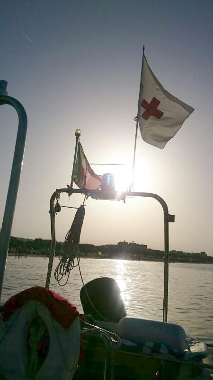 Grande impegno dei volontari della Croce Rossa per garantire la sicurezza a Senigallia