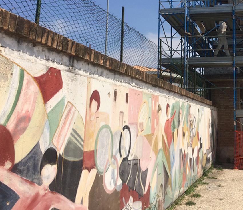 """SENIGALLIA / Paolo Pizzi: """"Allo stadio Bianchelli sarebbe opportuno realizzare nuovi murales"""""""