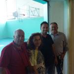 Al Liceo Laurana di Urbino palestra pronta per l'inizio dell'anno scolastico, sopralluogo di Tagliolini e Bartoli