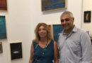 La pittrice Cristina Messora elabora a Senigallia nuove idee per le sue opere