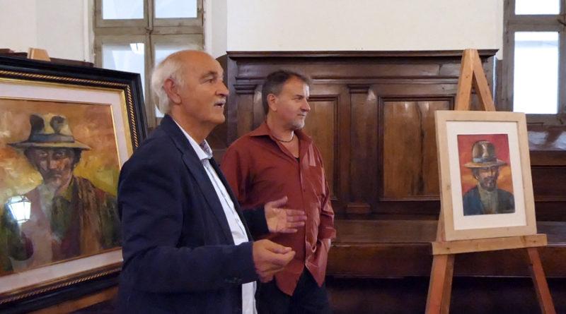 I quadri di Giovanni Schiaroli accompagnano a Ostra i 4 weekend dell'Autunno Arancione