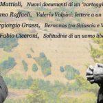 Venerdì, con un convegno, Fano rende omaggio a Leonardo Sciascia e Valerio Volpini