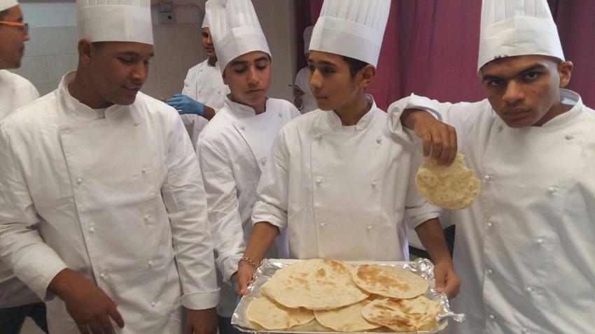 A Urbino l'integrazione dei ragazzi stranieri passa anche attraverso i prodotti dell'agroalimentare