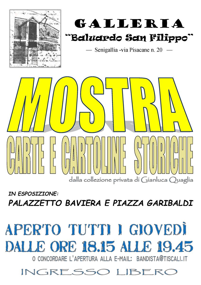 SENIGALLIA / In via Pisacane una mostra di carte e cartoline storiche della collezione privata di Gianluca Quaglia