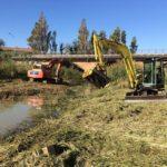 Avviati a Fano i lavori di pulizia dell'alveo del torrente Arzilla