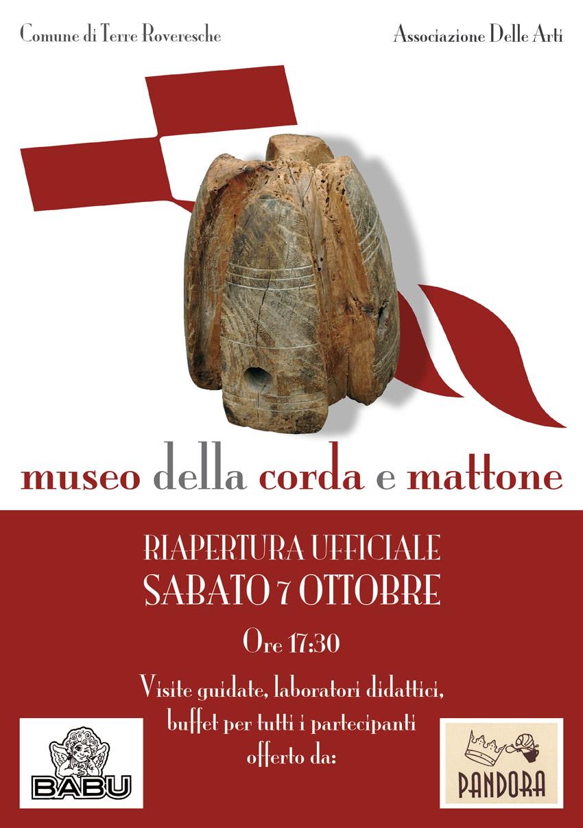 Sabato pomeriggio sarà inaugurato a Orciano il Museo della Corda e del Mattone