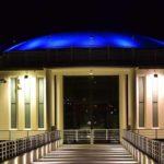 A Senigallia la Rotonda a mare si colora di blu nella giornata nazionale del diabete
