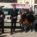 Consegnati al Comune di Senigallia e alla cooperativa sociale H Muta due mezzi per il trasporto di persone svantaggiate