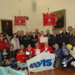 Significativo patto di solidarietà tra l'Avis di Fano e di Viterbo