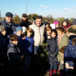 Tanti bambini hanno preso parte a Fano alla Festa degli alberi