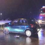 Giovane ferito in un incidente sulla rotatoria della complanare di Senigallia