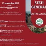 Lunedì a Urbino gli stati generali del gruppo Uniti per le Marche