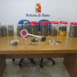 Padre e figlio arrestati a Senigallia, avevano in casa due chili e mezzo di marijuana