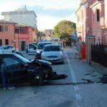 Statale semi bloccata per un incidente al centro di Senigallia