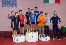 Ai campionati regionali a squadre di tennistavolo incetta di titoli per i giovani della scuola del Maestro Pettinelli