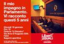 Giovedì a Fano l'on. Lara Ricciatti illustrerà i suoi cinque anni in Parlamento