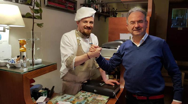 Al ristorante La Gioconda di Cagli ad assaggiare le perfette preparazioni al tartufo dello chef Gabriele Giacomucci