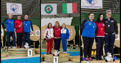 Ottimi risultati per gli arcieri senigalliesi ai campionati regionali indoor di tiro con l'arco