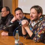 I consigli dello stilista Angelo Cruciani agli studenti dell'Istituto professionale di moda di Urbania