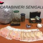 Un market della droga scoperto dai carabinieri a Pianello di Ostra