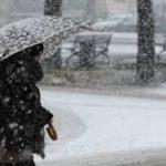 Anche sulla costa, tra Senigallia e Pesaro, scatta l'allarme neve