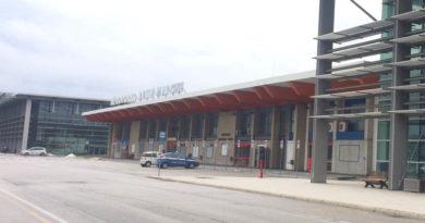 Sabato mattina all'aeroporto di Falconara sit-in della Lega Nord Marche in difesa dello scalo e dei lavoratori